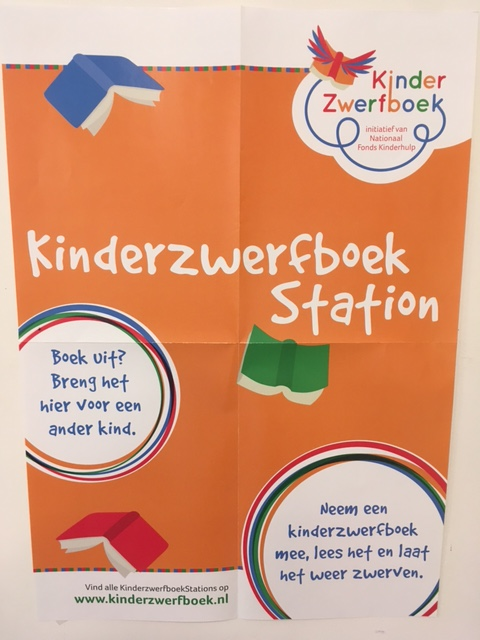 Kinderzwerfboek Station